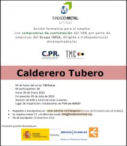 Calderero tubero